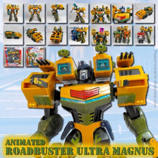 Animated Roadbuster Ultra Magnus