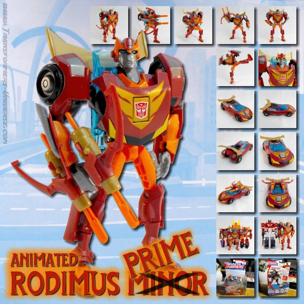 Animated Rodimus Minor