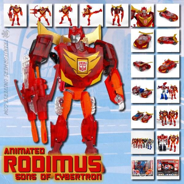 Animated Rodimus SoC