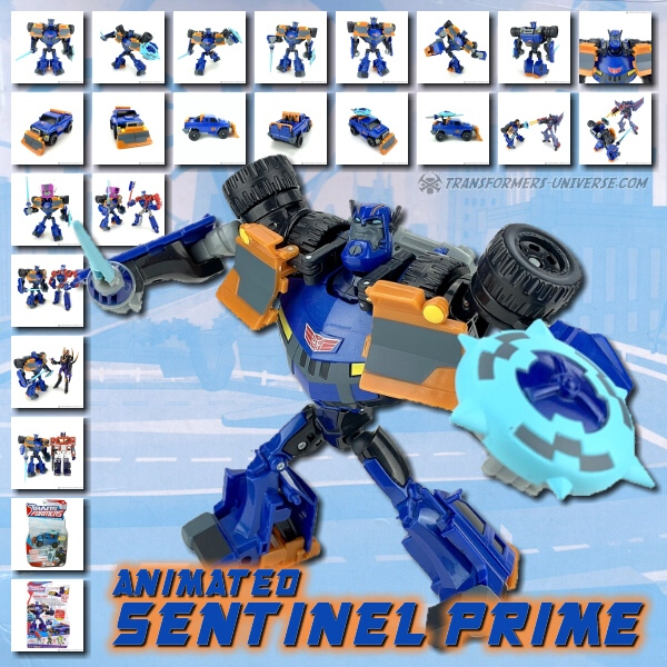 Animated Sentinel Prime