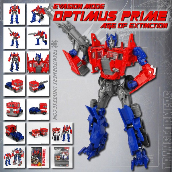 Age of Extinction Generations Collector Series Optimus Prime Evasion Mode (2014)