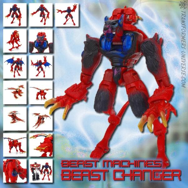 Beast Machines Beast Changer