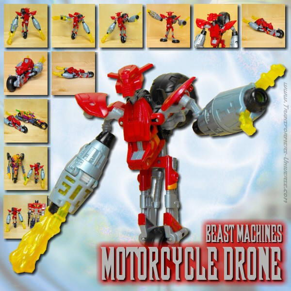 BM Motorcycle Drone