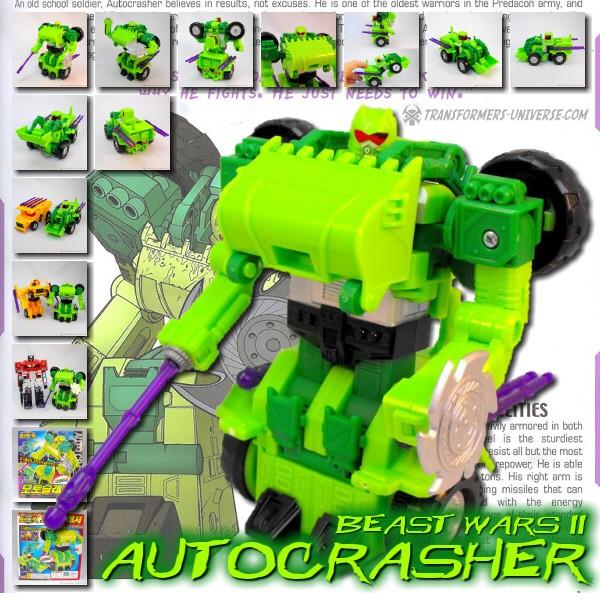 Beast Wars II Autocrasher