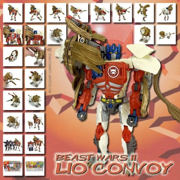 Beast Wars II Lio Convoy