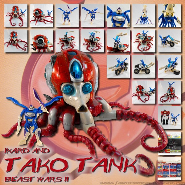 Beast Wars II Ikard & Tako Tank