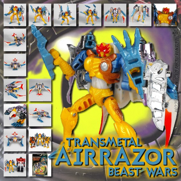 Beast Wars Transmetal Airazor