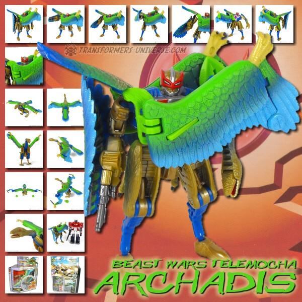 Beast Wars Telemocha Archadis