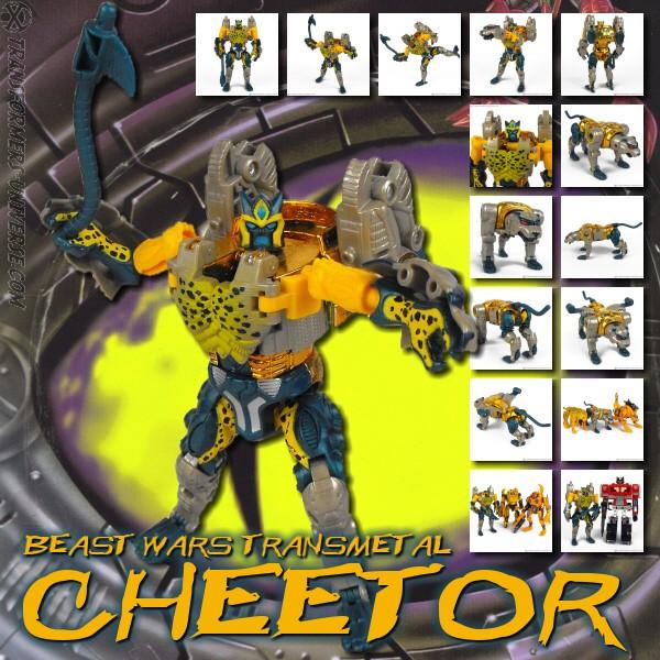 Beast Wars Transmetal Cheetor