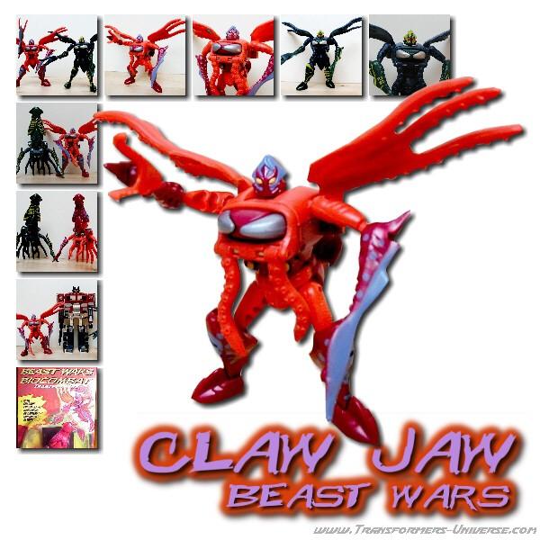 Beast Wars Claw Jaw