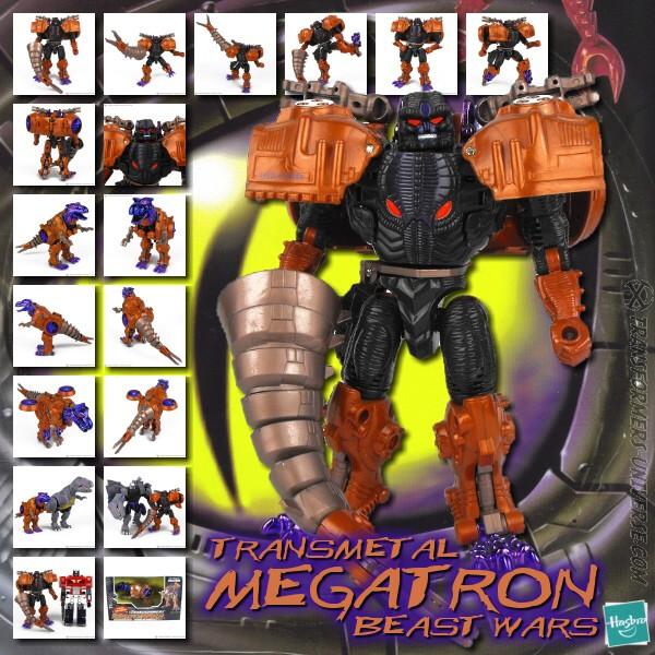 Beast Wars Transmetal Megatron