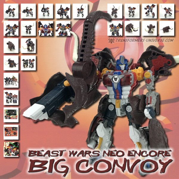 Beast Wars Neo Big Convoy Encore