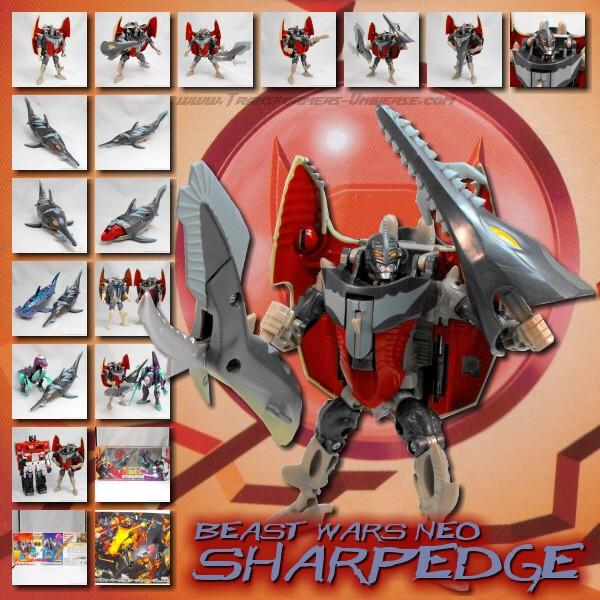 Beast Wars Neo Sharp Edge