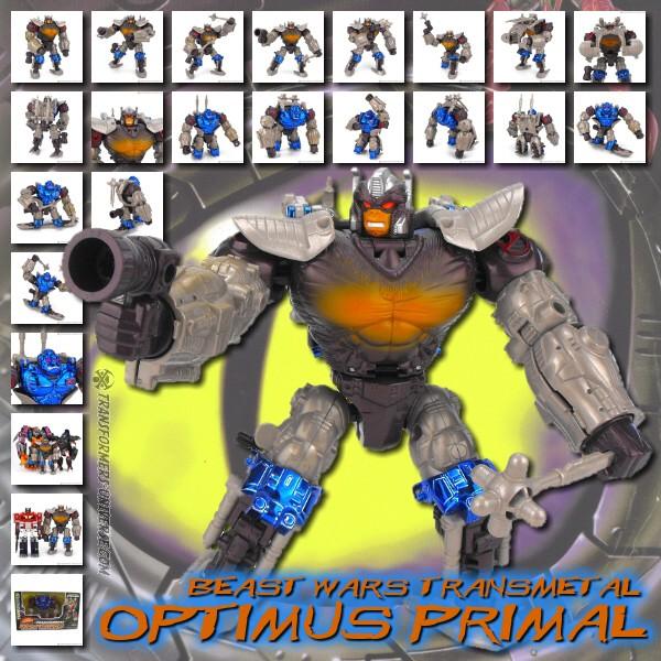Beast Wars Transmetal Optimus Primal