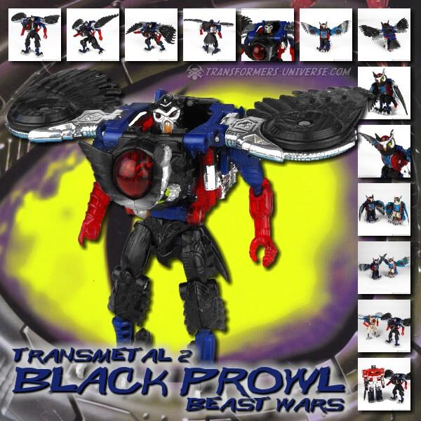 Beast Wars Black Prowl TM2