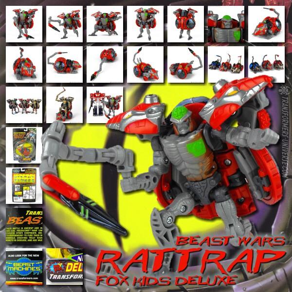Beast Wars Rattrap Fox Kids