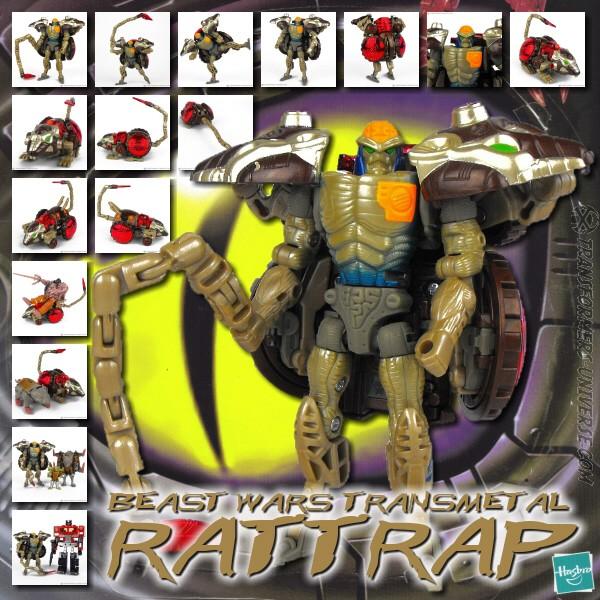 Beast Wars Transmetal Rattrap
