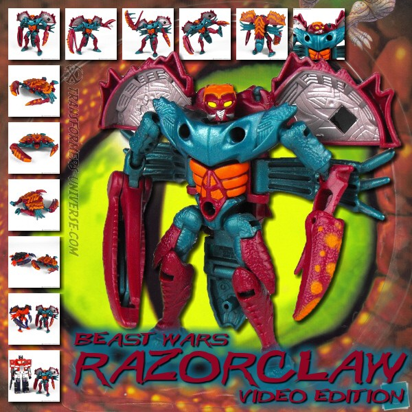 Beast Wars Razorclaw Video Edition