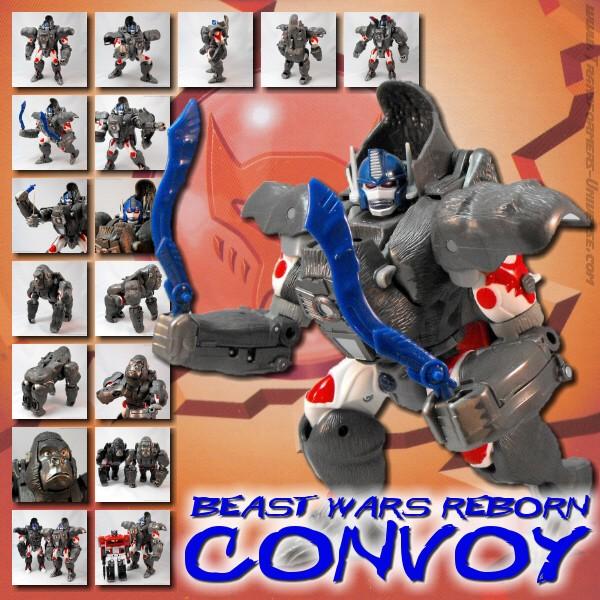 Beast Wars Reborn Convoy