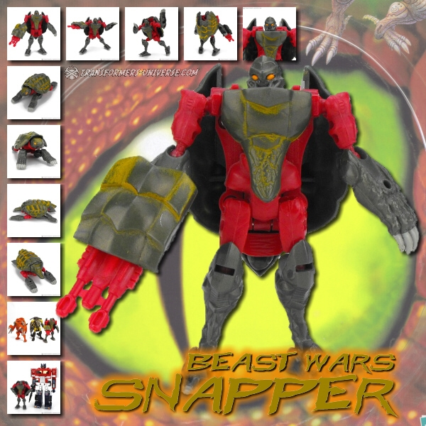 Beast Wars Snapper