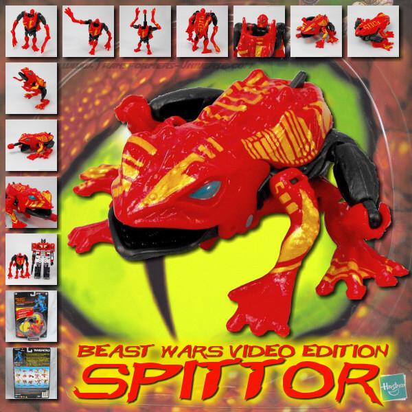 Beast Wars Spittor Video Edition