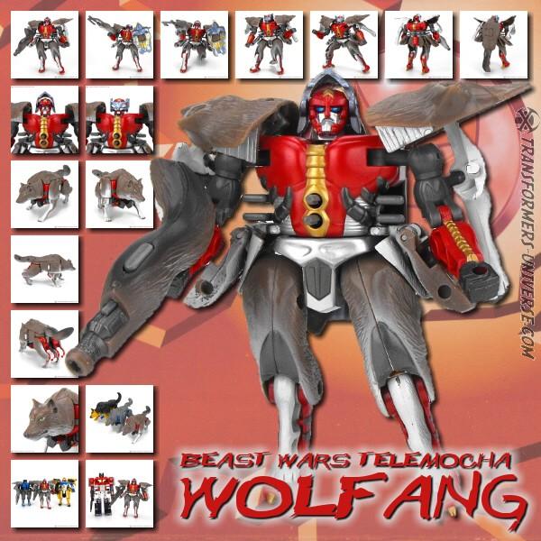 Beast Wars Telemocha Wolfang
