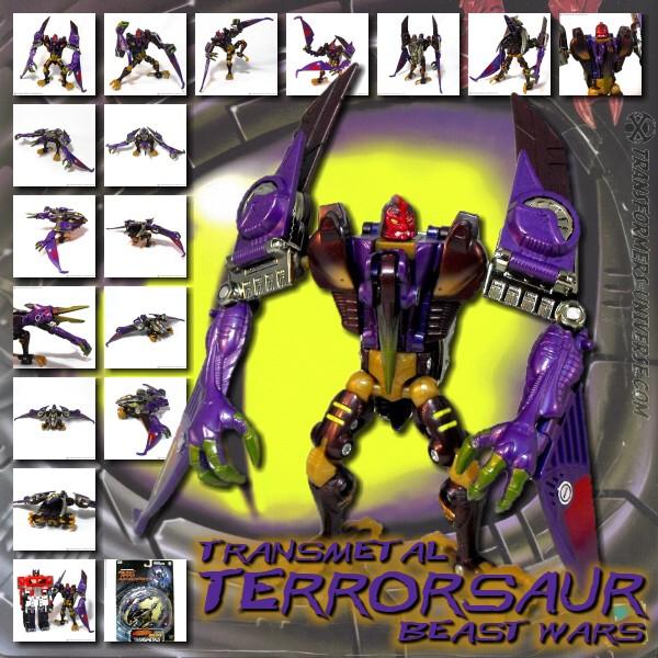 Beast Wars Transmetal Terrorsaur