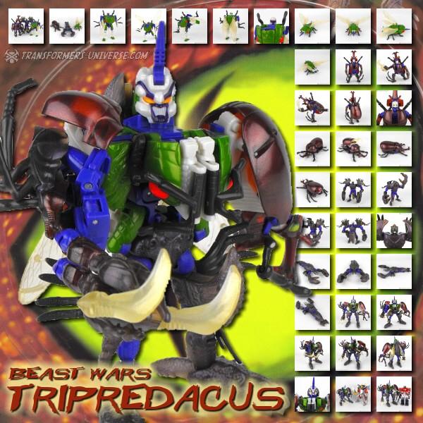 Beast Wars Tripredacus