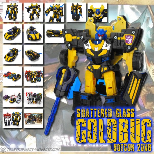 Botcon Exclusives  Goldbug (2008)