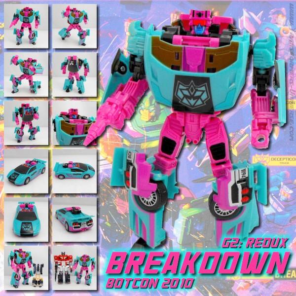 Botcon 2010 Breakdown