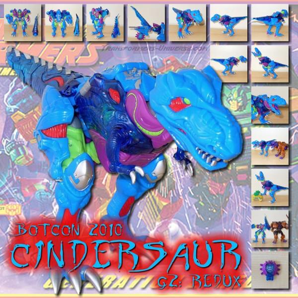 Botcon 2010 Cindersaur