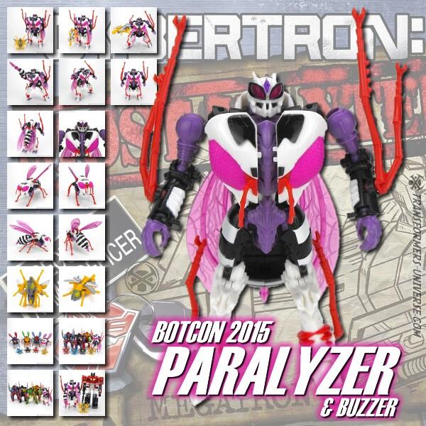 Botcon 2015 Paralyzer & Buzzer