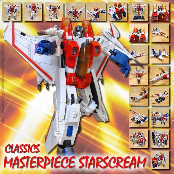 Classics Masterpiece Starscream