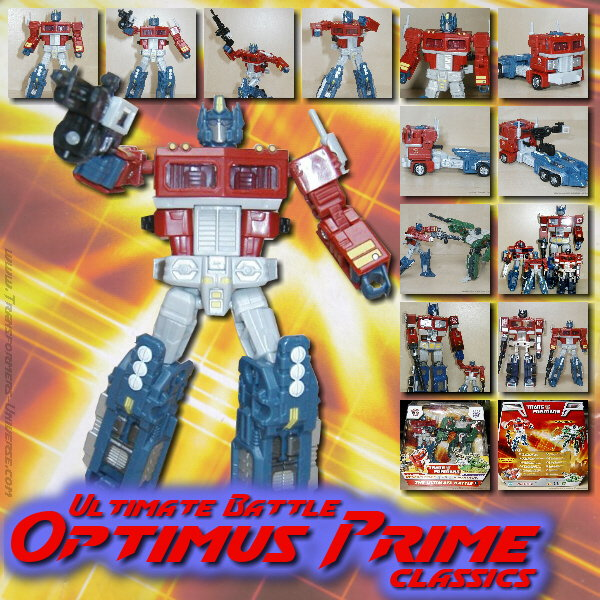 Classics Optimus Prime Ultimate Battle