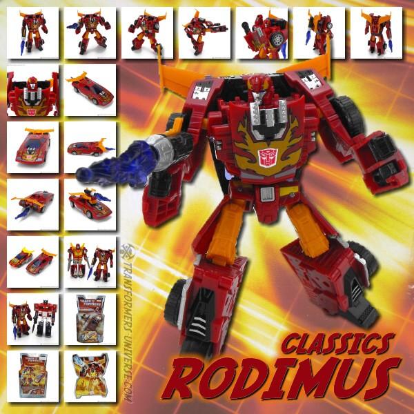 Classics Rodimus