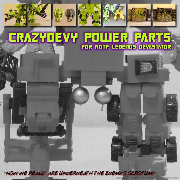 CDMW-03 & 04 Mean Robots Power Parts