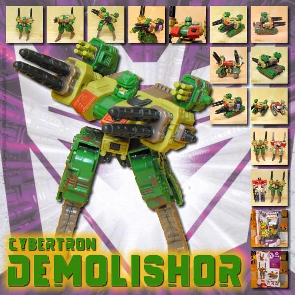 Cybertron Demolishor