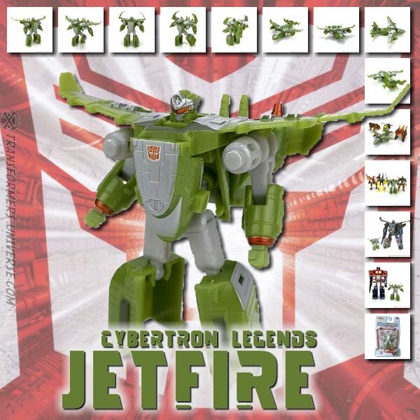 Cybertron Jetfire Legends