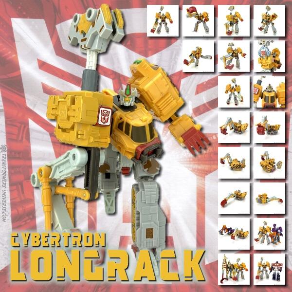 Cybertron Longrack