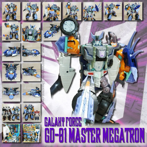 Galaxy Force GD-01 Master Megatron