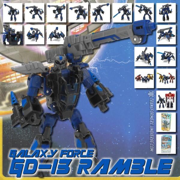 Galaxy Force GD-13 Ramble
