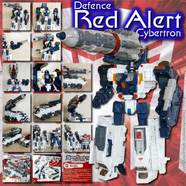Cybertron Defence Red Alert