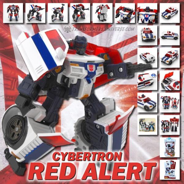 Cybertron Red Alert
