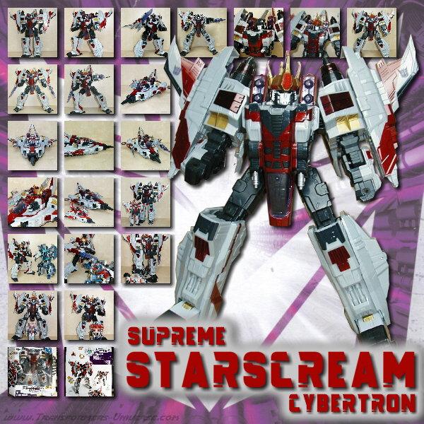 Cybertron Starscream Supreme