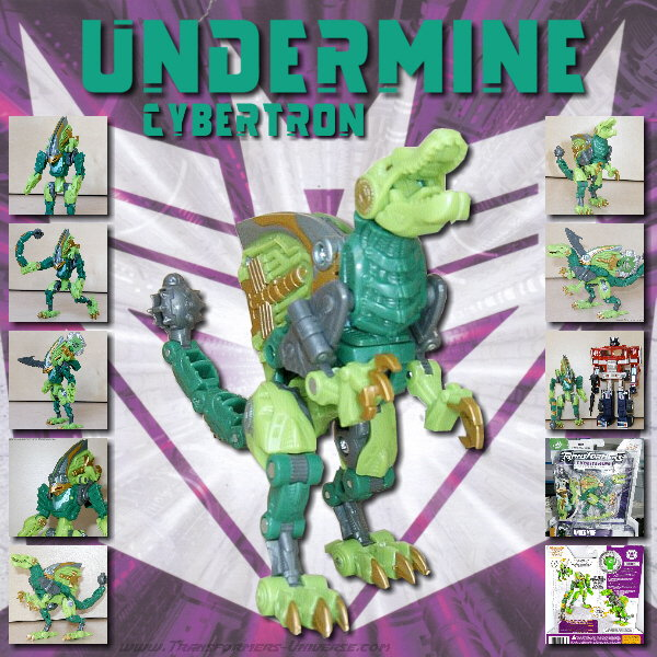 Cybertron Undermine
