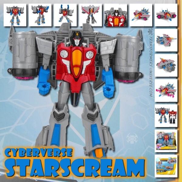 Cyberverse Starscream