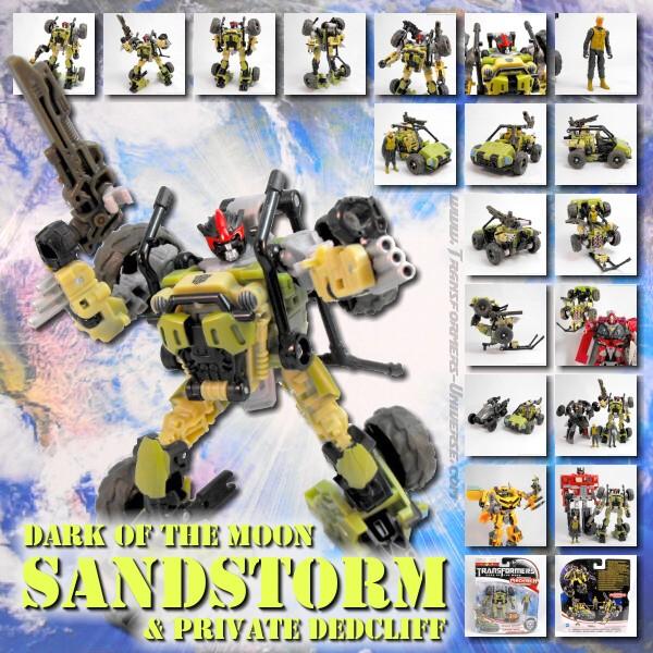 DOTM Sandstorm & Private Dedcliff