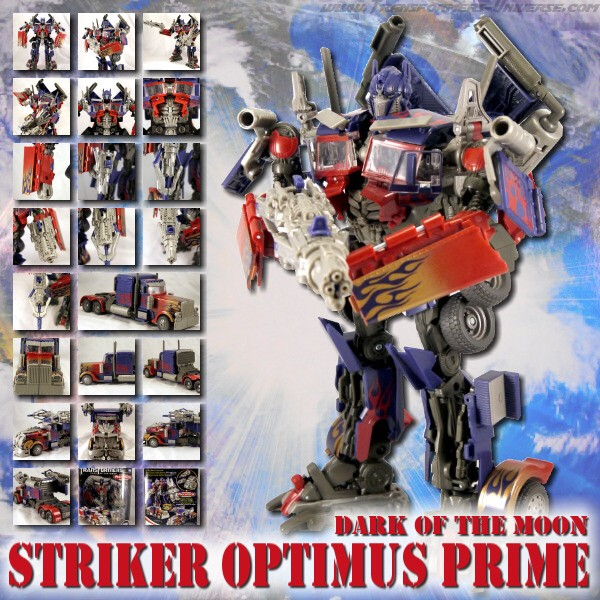 DOTM Striker Optimus Prime