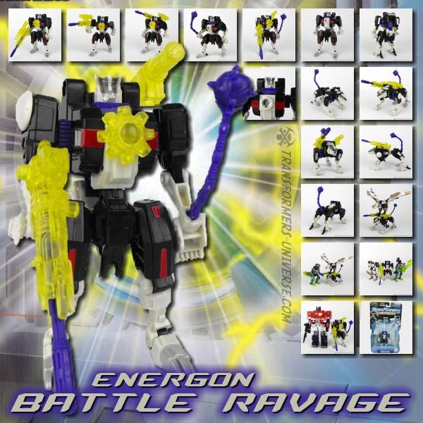 Energon Battle Ravage