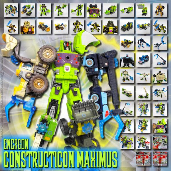 Energon Constructicon Maximus